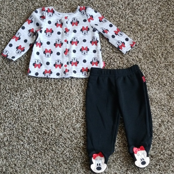 Disney Other - Disney Baby Minnie Mouse Outfit